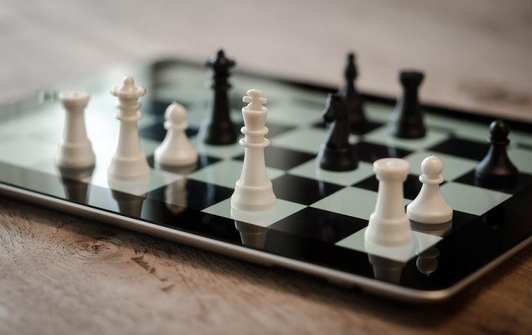 Nog geen peer review Deutschland schaken ipad 3d digitale strategie - Schaken tegen een computer