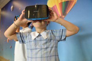 VR koptelefoon 300x200 - Kan sport interactief worden met virtual reality?