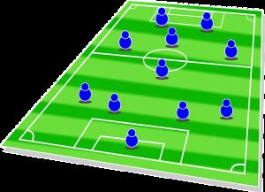 voetbalwedstrijd 300x217 - Kan kunstmatige intelligentie wedstrijdeindstanden helpen voorspellen?